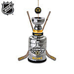 NHL® Boston Bruins® 2011 Stanley Cup® Champions Ornament Collection