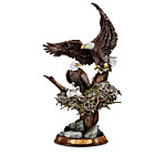 Eagle Cam-Inspired American Bald Eagle Sculpture Collection - Protectors Of The Nest