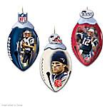 NFL New England Patriots FootBells Ornament Collection