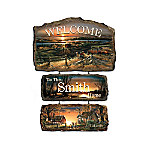 Personalized Welcome Sign - Seasons Of Splendor Collection