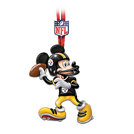 NFL Pittsburgh Steelers Disney Ornament Collection: Steelers Magic