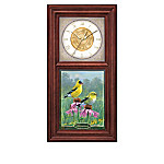 Songbirds Of The Seasons Wall Clock Collection