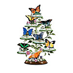 Butterflies Of North America Tabletop Tree Collection