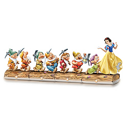 Limoges-Style Boxes: Snow White And The Seven Dwarfs Box Collection