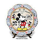 Disney Mickey Mouse: A Shining Star Collector Plate