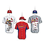 2011 World Series Champions St. Louis Cardinals Jersey Ornament Collection