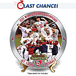 St. Louis Cardinals MLB 2011 World Series Champions Collector Plate Collection 903150