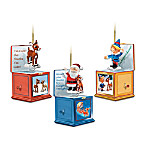 Rudolph's Jack-in-the-Box Ornament Collection
