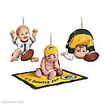 NFL Green Bay Packers Baby Ornament Collection: Born To Be A Packers Fan