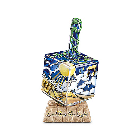 Figurine: Seven Days Of Creation Dreidel Figurine Collection