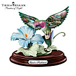 Thomas Kinkade Garden Wonders Hummingbird Sculpture Collection