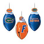 Florida Gators Christmas Ornament Collection - FootBells