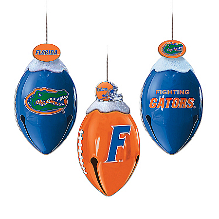 Florida Gators Christmas Ornament Collection: FootBells