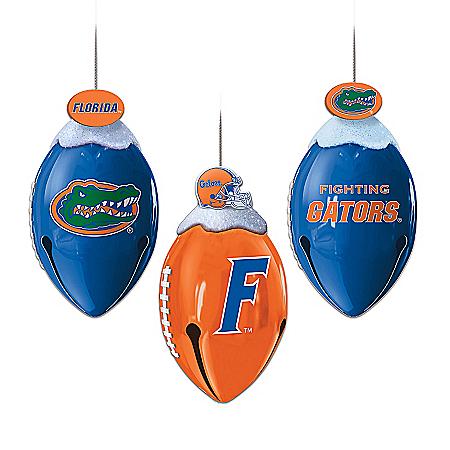 Florida Gators Christmas Ornament Collection: FootBells