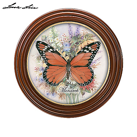 Lena Liu Plates Lena Liu Butterfly Wall Decor Collection: Silken Wings