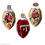 NFL San Francisco 49ers FootBells Ornament Collection