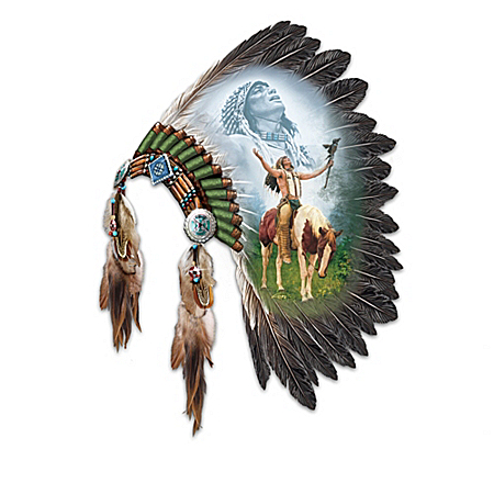 Native American-Inspired Feather Wall Decor Collection: Spirits Of The Warrior