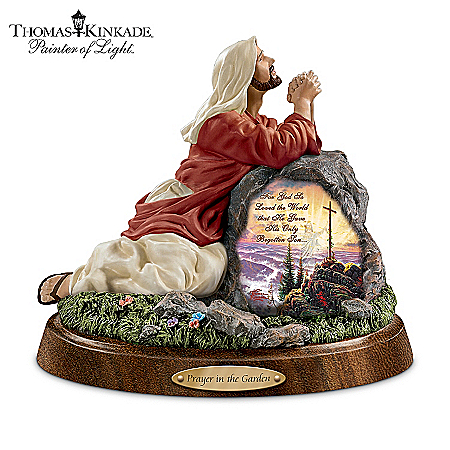 Thomas Kinkade Jesus Christ Sculpture Collection: Prayers Of Our Lord