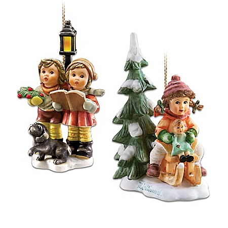An M.I. Hummel Christmas Ornament Collection
