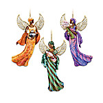 African-American Angel ornament Collection: The Lord's Blessings