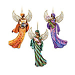 African-American Angel ornament Collection - The Lord's Blessings