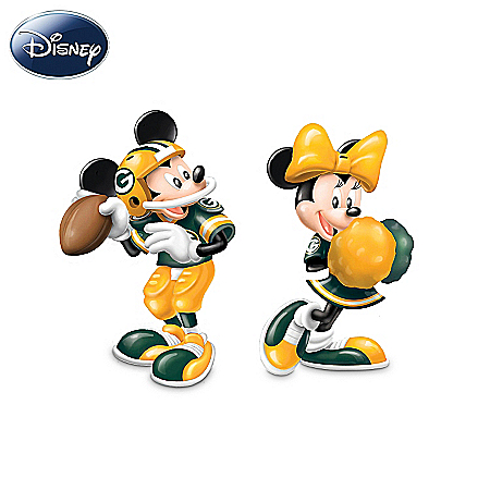 Salt And Pepper Shakers: Disney Spice Up The Season Green Bay Packers Salt And Pepper Shakers Collection
