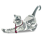 Crystal Cat Figurine Collection: Fancy Felines