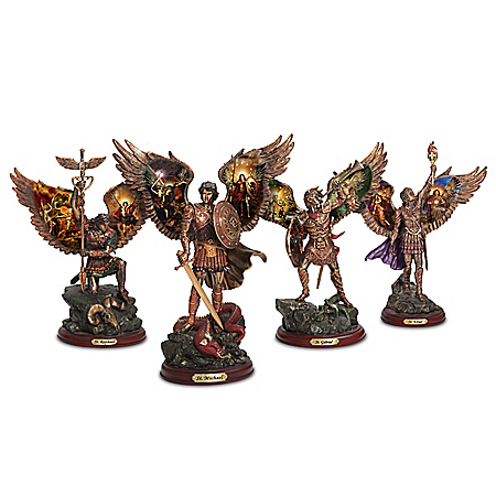 Bronze Sculpture Collection: Archangels Of Light