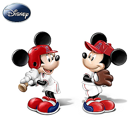 Disney Salt And Pepper Shaker Collection: Spicing Up The Season Los Angeles Angels Of Anaheim