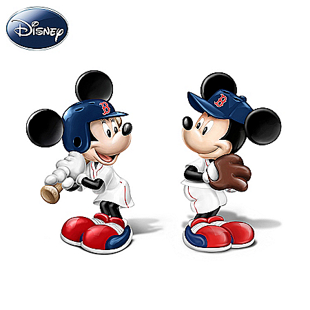 Disney Salt And Pepper Shaker Collection: Spicing Up The Season Boston Red Sox