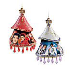 Elvis A Shimmering Legacy Christmas Ornament Collection