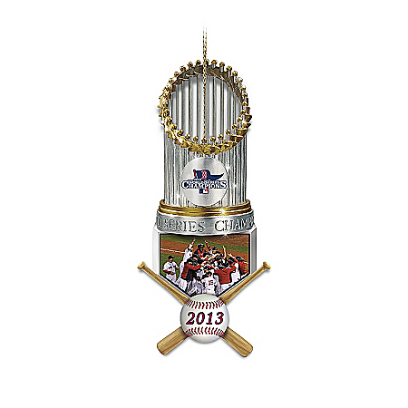 Ornaments: Boston Red Sox Ornament Collection