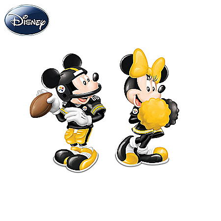 Disney Spice Up The Season Pittsburgh Steelers Salt And Pepper Shakers Collection