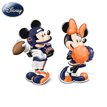 Salt And Pepper Shakers: Disney Chicago Bears Spicing Up The Season Salt And Pepper Shaker Collection