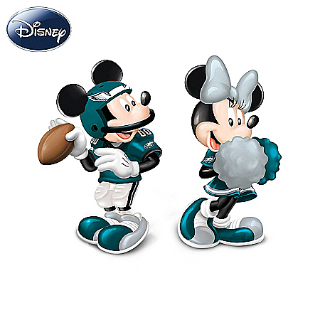 Salt And Pepper Shakers: Disney Philadelphia Eagles Spicing Up The Season Salt And Pepper Shaker Collection