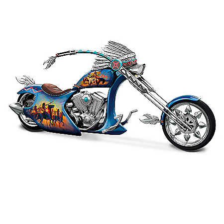 Spirit Of The Road Chopper Figurine