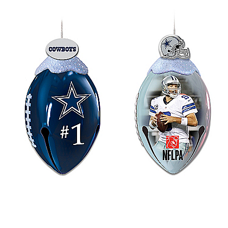 FootBells Ornament Collection: NFL Dallas Cowboys