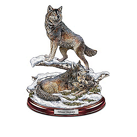 Sculptures: Protectors Of The Pack Sculpture Collection