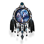 Wolf Dreamcatcher Collector Plate Collection - Sacred Spirit