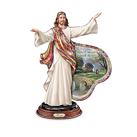 Sculptures: Thomas Kinkade Illuminations Of The Lord Sculpture Collection