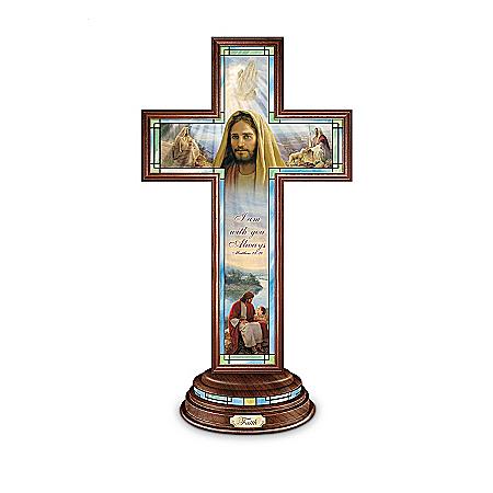 Crosses: Greg Olsen Light Of Faith Cross Collection