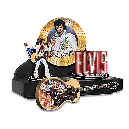 Sculpture: Elvis Presley: Showcase Of The King Sculpture Collection