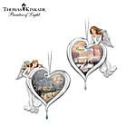 Thomas Kinkade Heartfelt Blessings Ornament Collection
