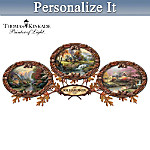 Home Decor Collectibles Thomas Kinkade The Warmth Of Home Personalized Wall Decor Collection
