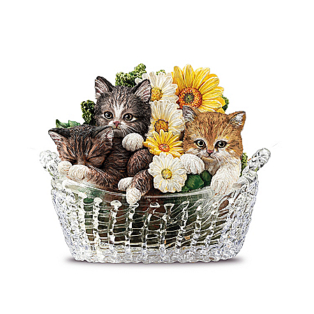 Figurines: Garden Purr-fection Figurine Collection