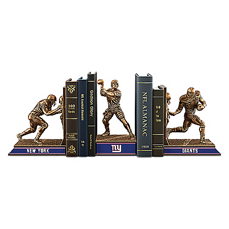 Bookends: New York Giants Legacy Bookends Collection