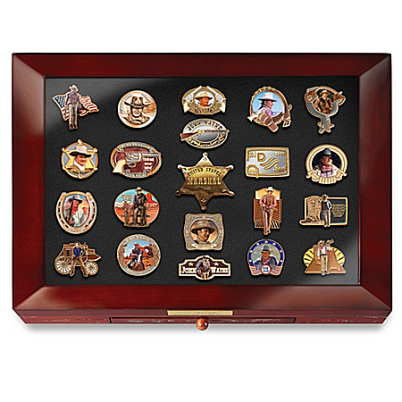 John Wayne Tribute Pin Collection Featuring American Legend, The Duke