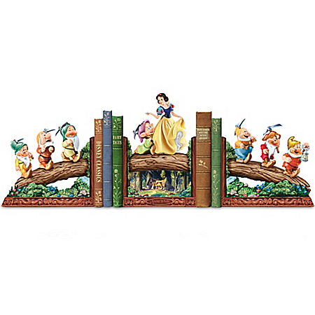 Walt Disney's Snow White And The Seven Dwarfs Heirloom Bookends Collection