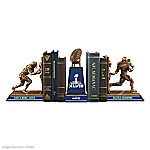 Seattle Seahawks Super Bowl XLVIII Champions Cold-Cast Bronze Bookends Collection