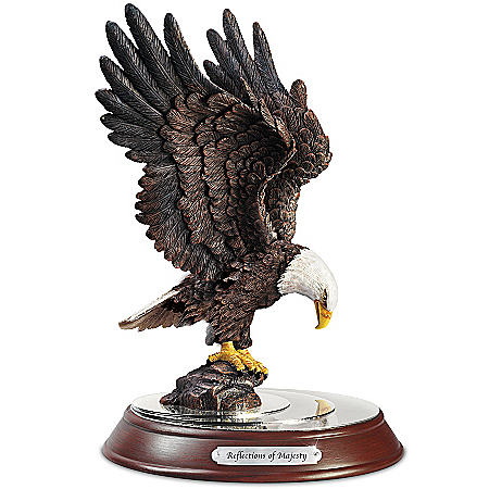 Crystal Waters Bald Eagle Sculpture Collection